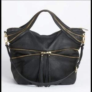 Kelsi Dagger Mackenzie Leather Zipper Bag